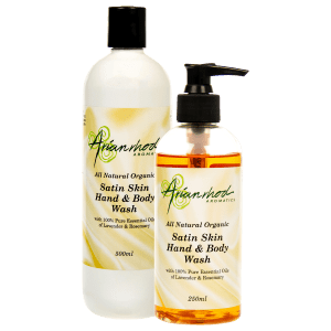 Satin Skin Hand and Body Wash Lavender and Rosemary