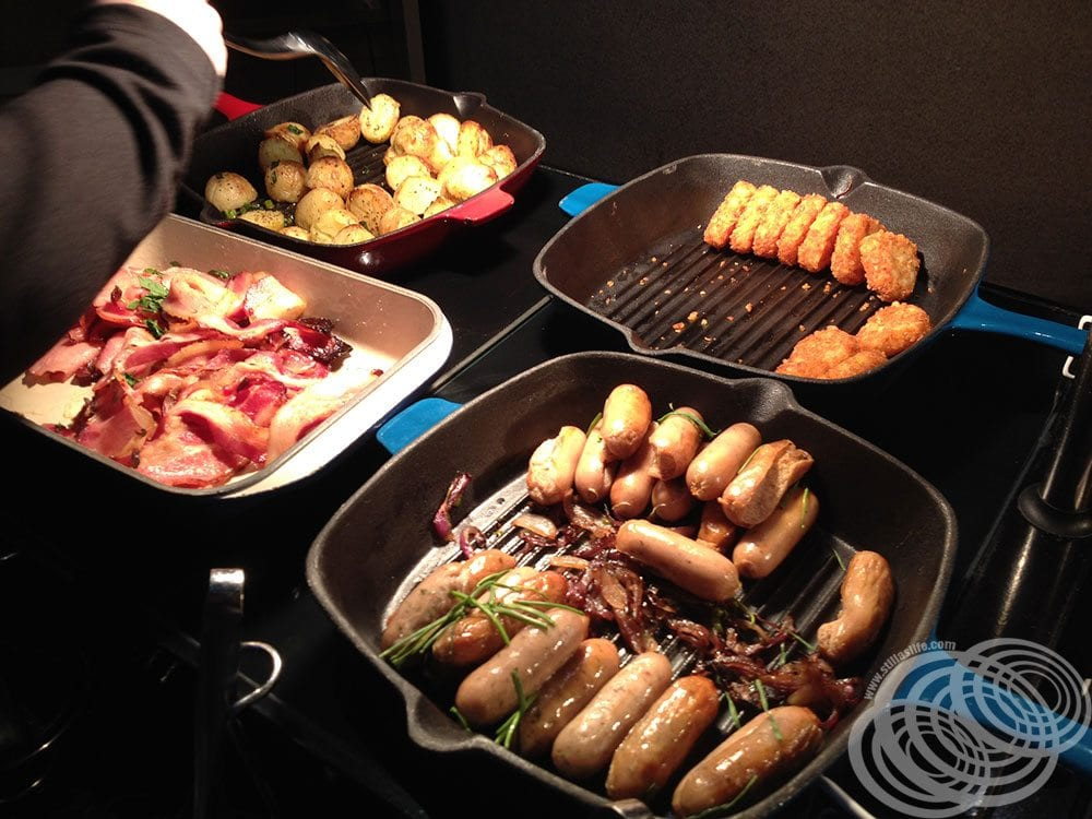 Hot Food at Rydges Capital Hill Canberra Breakfast Buffet