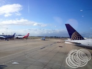 Sydney Airport T1 View
