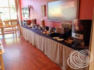 Rydges Horizons Rise Continental Buffet Table