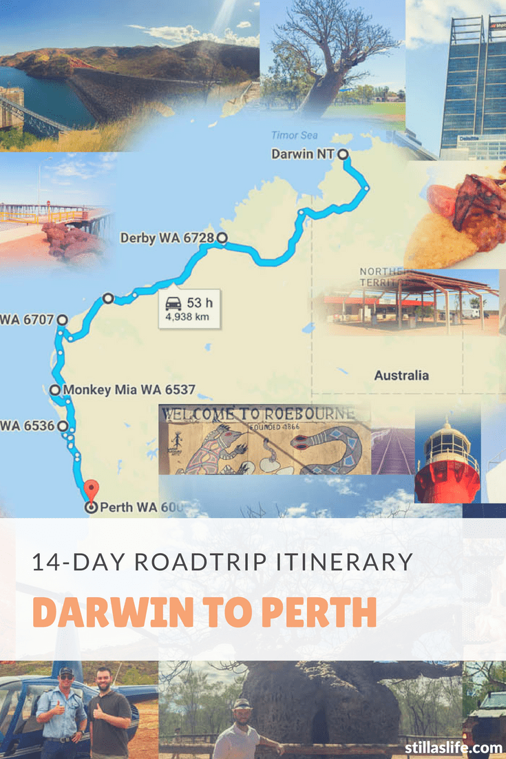 14-Day Darwin to Perth Roadtrip Itinerary