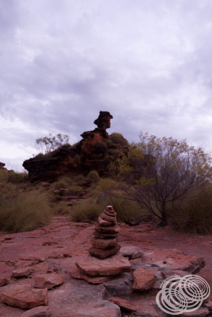 Rock piles at Mirima National Park