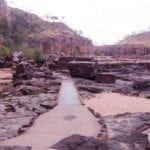 Part of the path between gorges 1 & 2 at Nitmiluk (Katherine) Gorge
