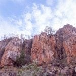 Cliffs at Nitmiluk (Katherine) gorge 2