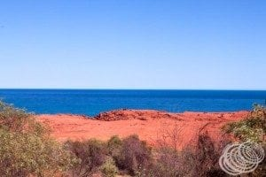 The ochre cliffs at Cape Leveque are such a brilliant red