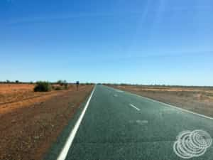 It's a long drive from Broome to Point Samson