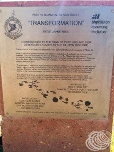 "About the ""Transformation"" monument"