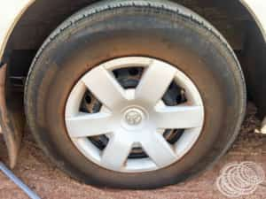 Our tyre going flat