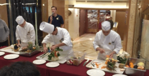Dawn Princess Food Carving Demonstration