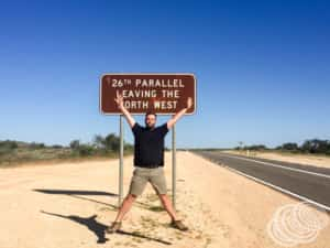 Crossing the 26th Parallel