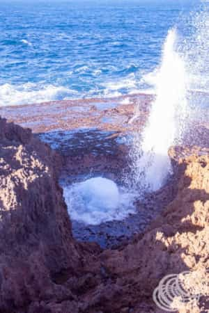 Another of the Quobba Blow Holes