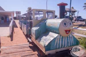 The One Mile Jetty Train