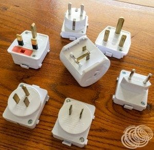 My Go worldwide travel double adapter
