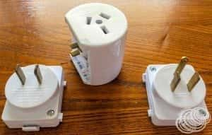What power converter do you need when travelling from Australia to Japan?