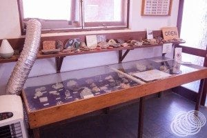 The gemstone collection at Hutt River Province