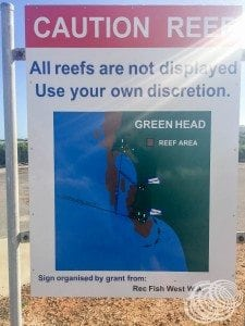 Green Head Reef Areas
