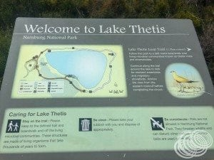 Lake Thetis loop track