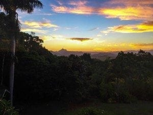Mt Warning Sunset