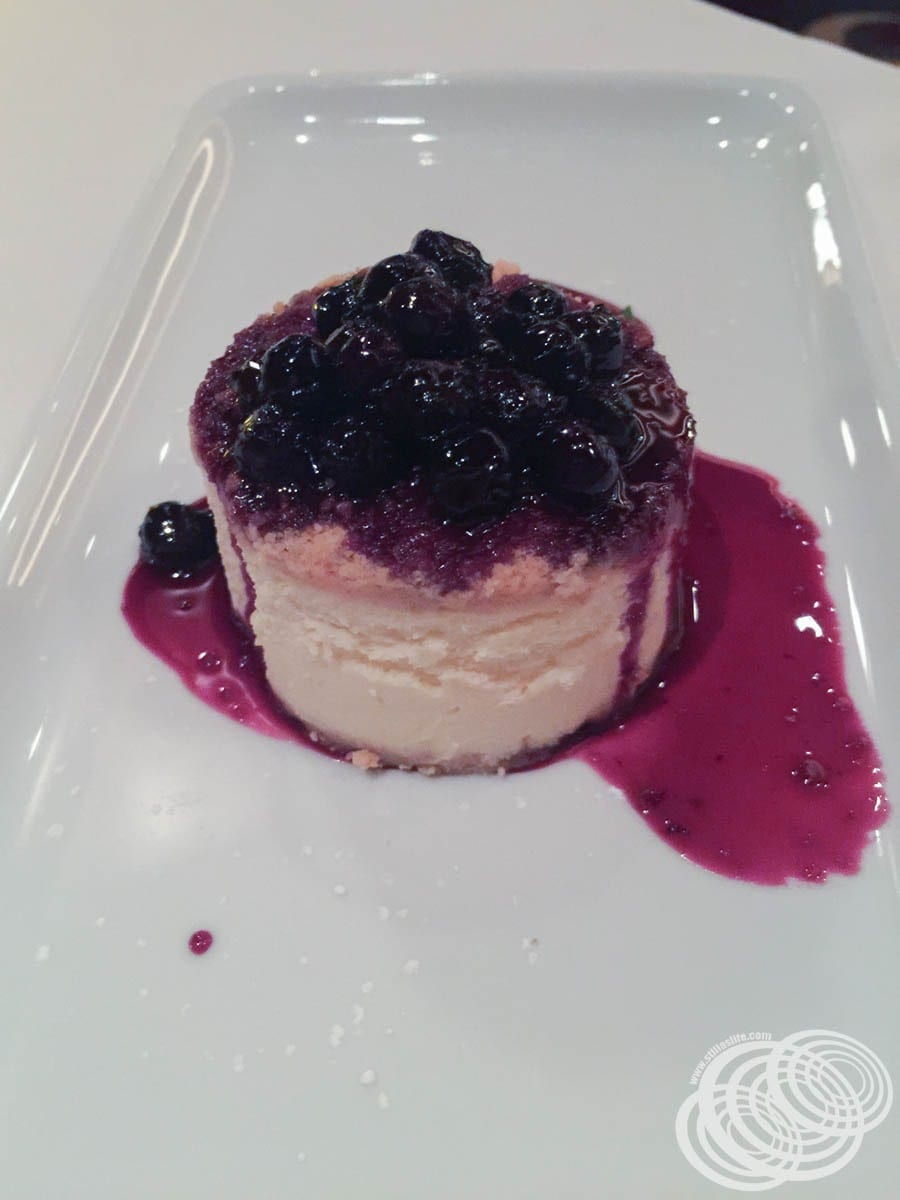 Chops Grille Huckleberry Cheesecake