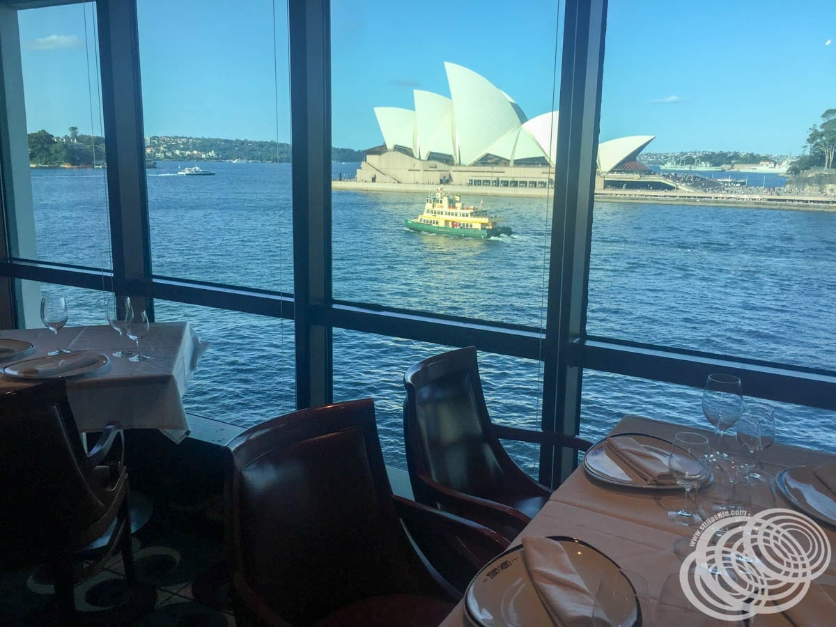 Sydney Opera House from Chops Grille on Radiance of the Seas