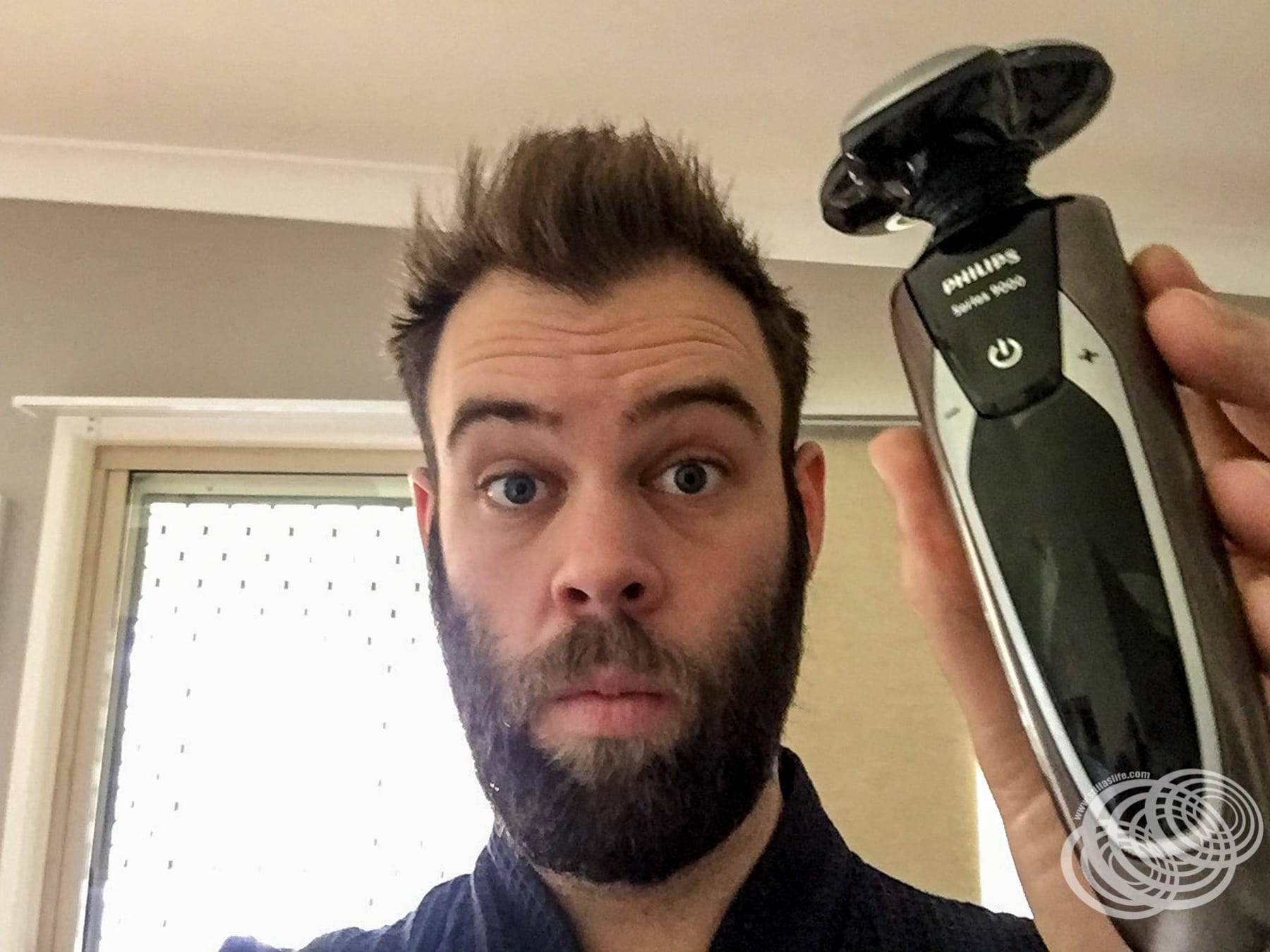 About to use my new Philips 9000 Series Shaver for the first time.