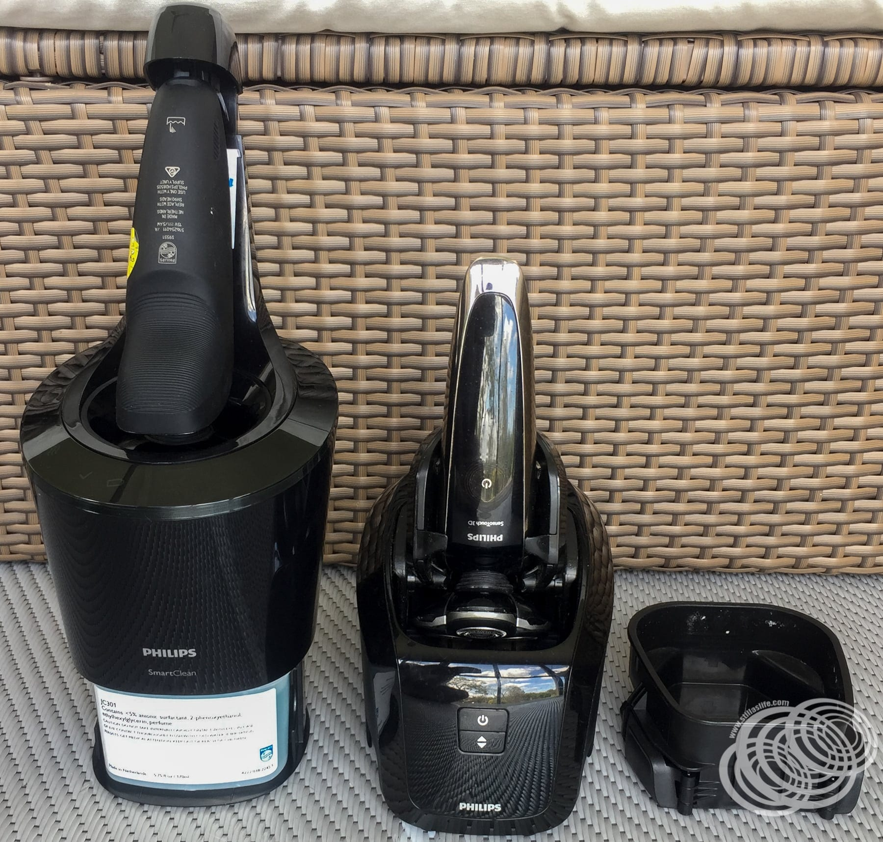 The SmartClean Plus cartridge and the old cleaner