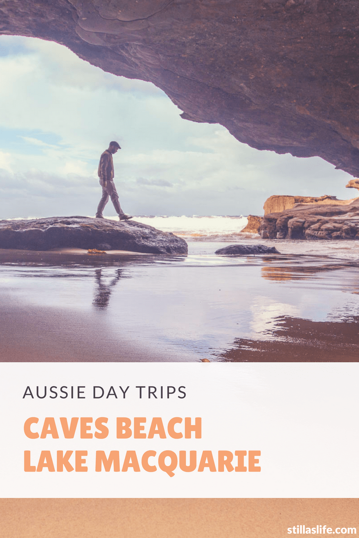 Caves Beach is a beautiful sandy beach near Swansea in the coastal city of Lake Macquarie, our backyard.