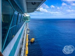 Tendering at Mare from Explorer of the Seas
