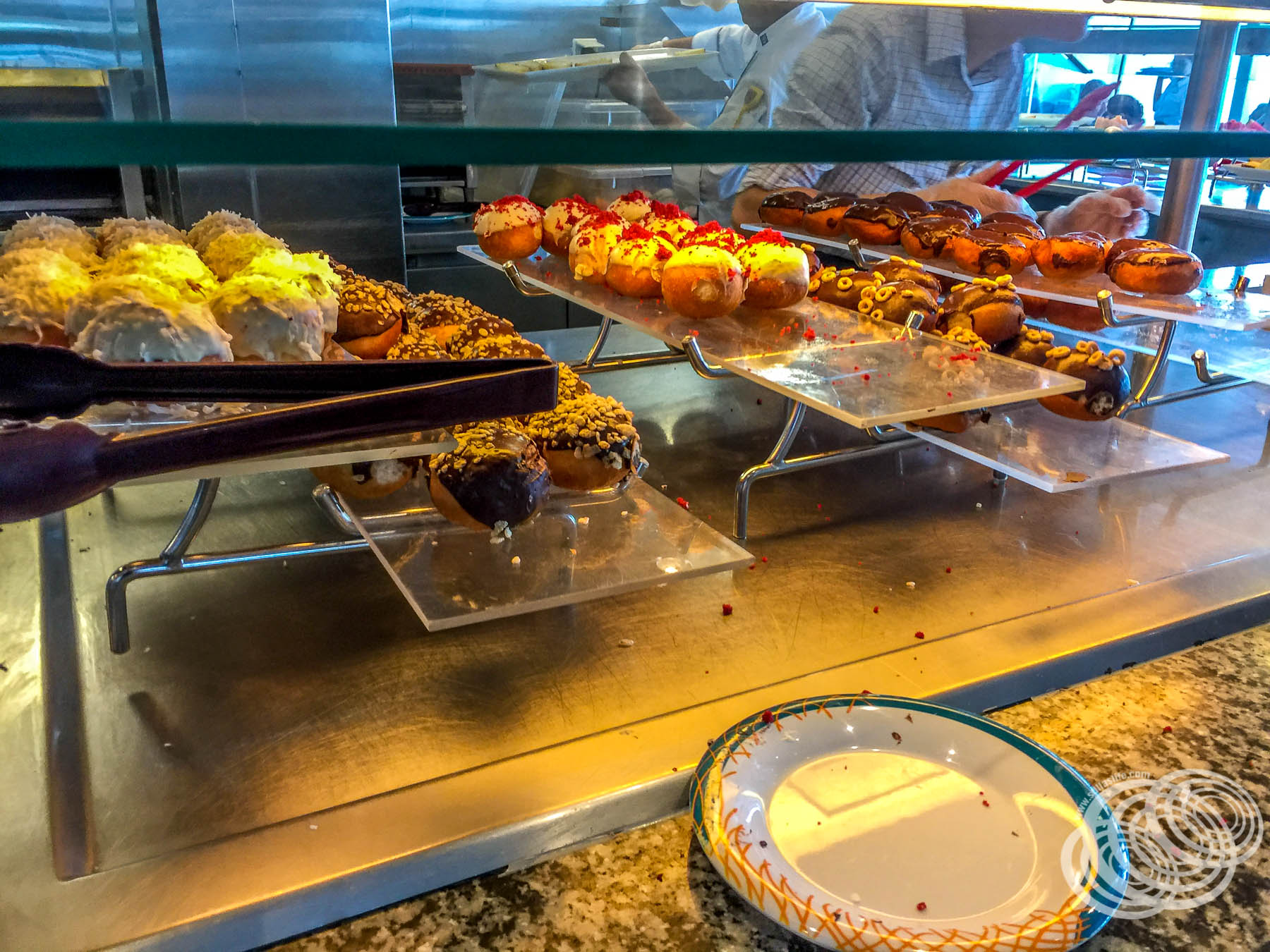Breakfast Pastries at Windjammer on Explorer of the Seas