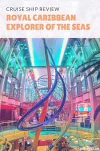 Royal Caribbean's Explorer of the Seas is a beautiful ship with a lot of positives and a hand full of negatives that I've observed on our recent cruise.