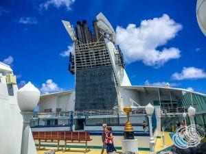 Explorer of the Seas Rock Wall and Sports Court