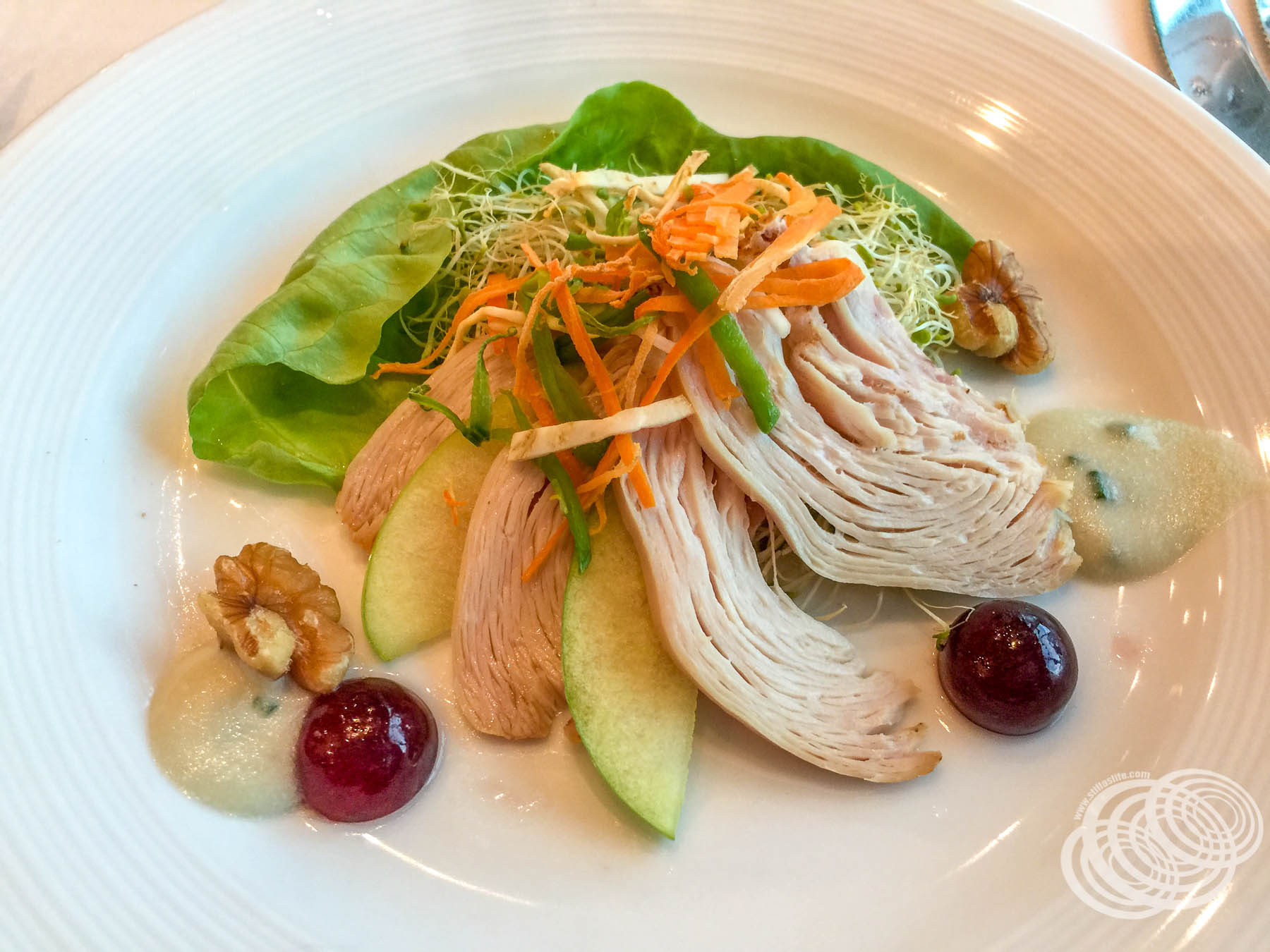 Royal Caribbean Saffron Menu - Oakwood Smoked Chicken Breast
