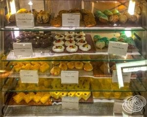 Sweets at Cafe Promenade on Explorer of the Seas
