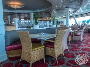 Windjammer Cafe Seating on Explorer of the Seas