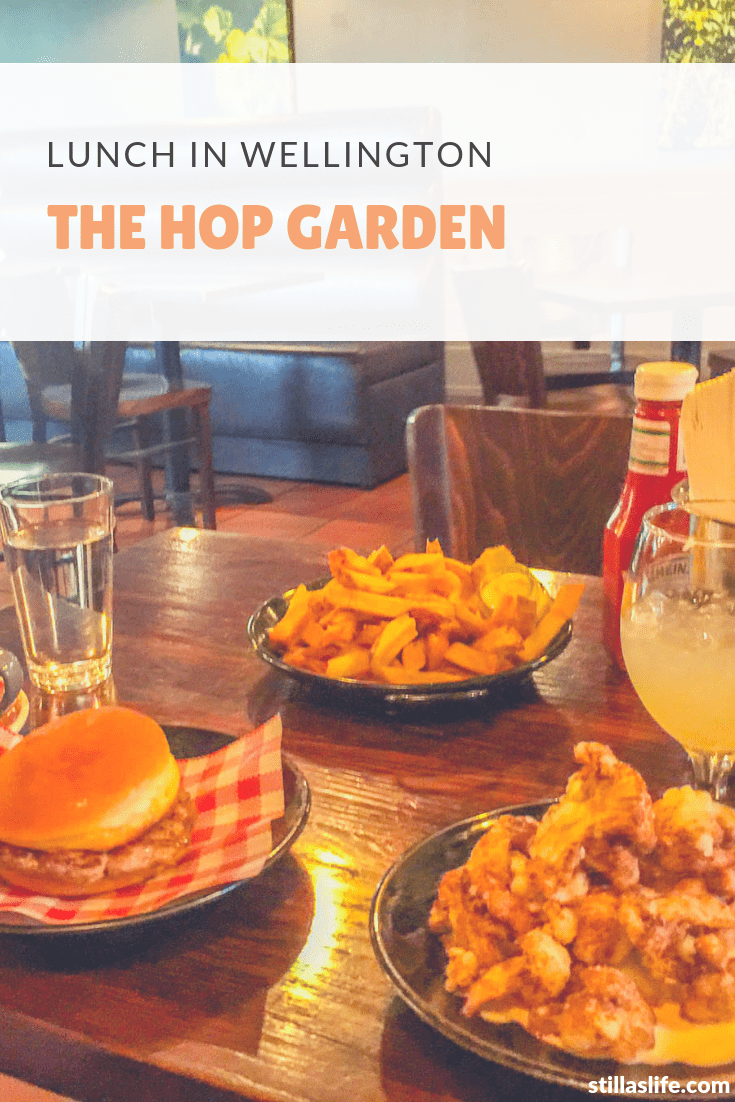 Lunch at The Hop Garden Wellington
