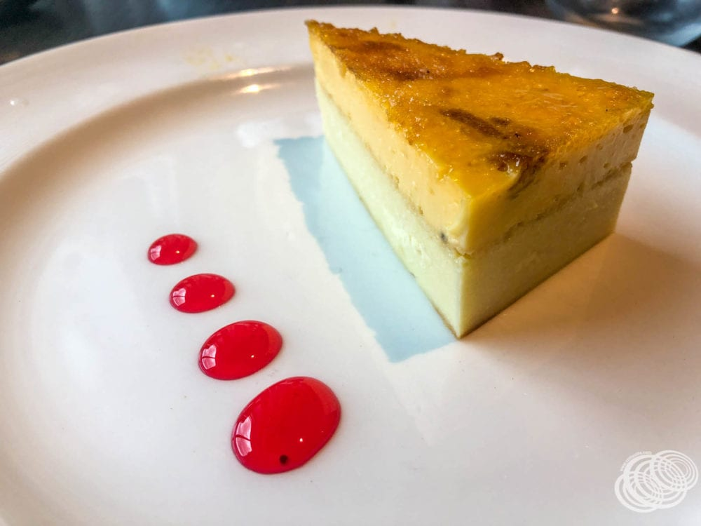 Creme Brulee Cheesecake for dessert