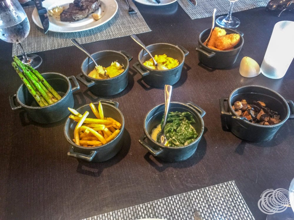 Dining at Chops Grille on Royal Caribbean's Explorer of the Seas