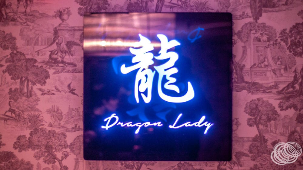 Dragon Lady Restaurant Sign