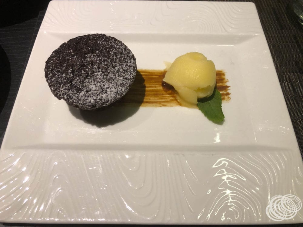 Flourless Five-Spice Chocolate Pudding at Dragon Lady Restaurant
