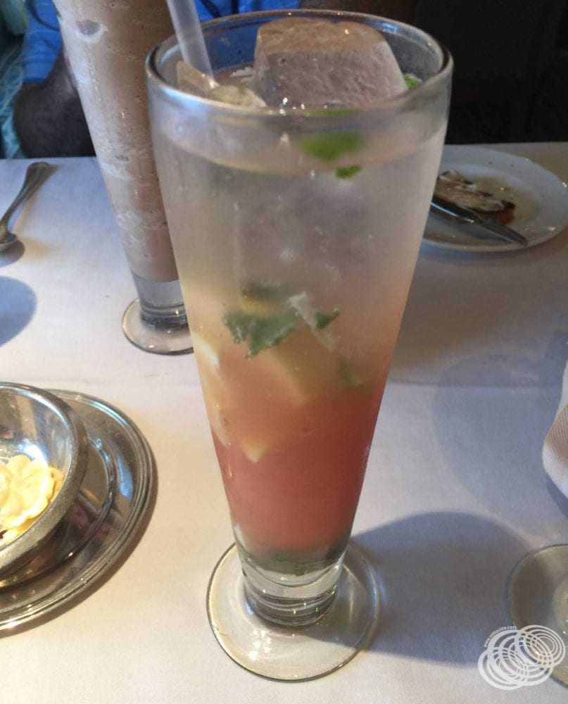 Mocktails might set you back anywhere from $5 to $12 like this one on Princess Cruises