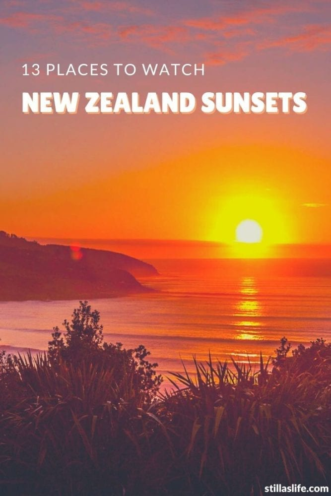 13 Gorgeous NZ Sunsets 3