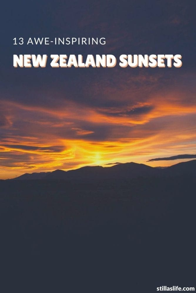 13 Gorgeous NZ Sunsets 4