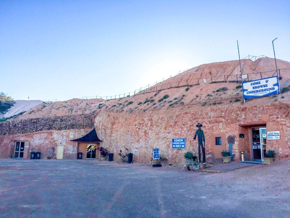 Coober Pedy Outside The Opal Cave