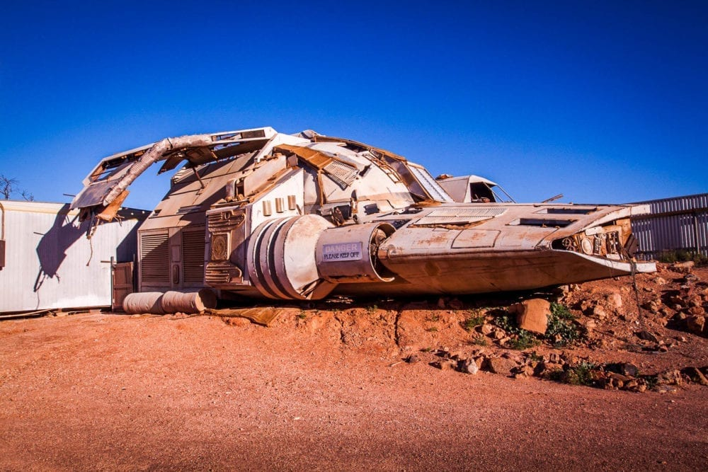 Coober Pedy Pitch Black Spaceship