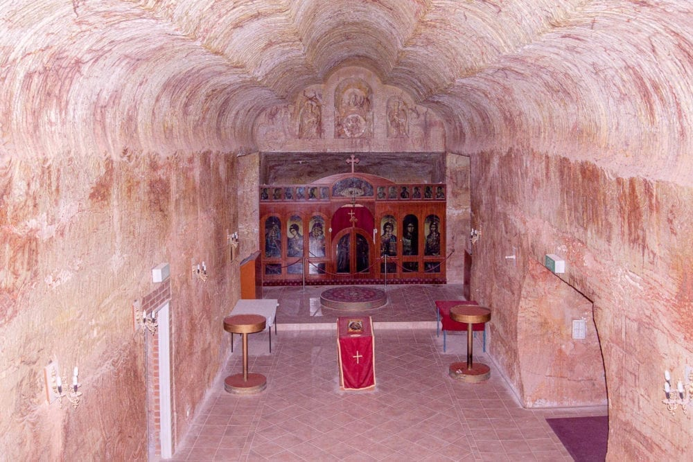 Coober Pedy Serbian Church Inside