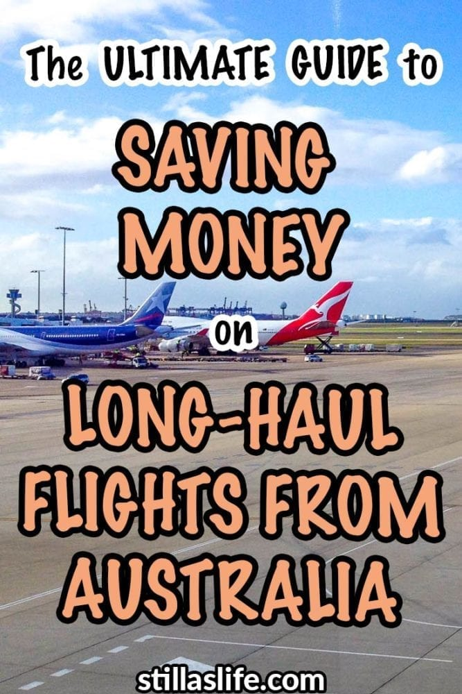 Ultimate guide to saving money on long-haul flights from Australia