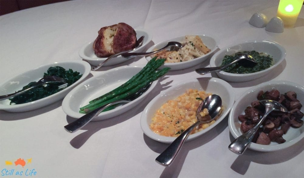 Chops Grille Side Dishes