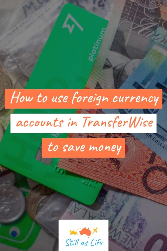 Saving money with TransferWise Pin 2
