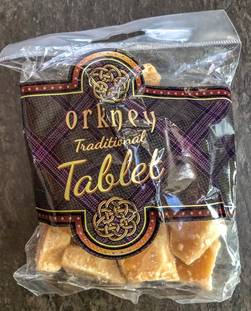 Orkney Scottish Tablet Packaged