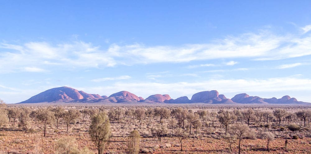 Kata Tjuta from the Dunes Viewing Area